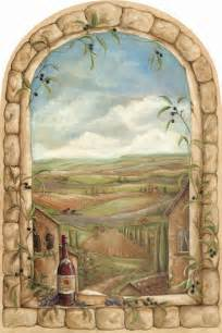Tuscan Wall Murals Gallery For Gt Tuscan Wall Art
