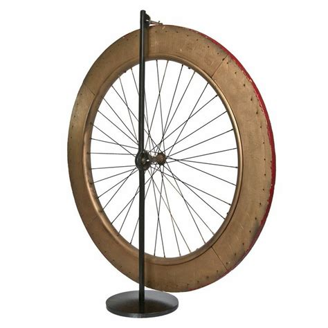 Handmade Bicycle Wheels - vintage handmade carnival gaming bicycle wheel omero home