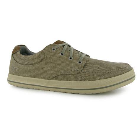 skechers mens define soden canvas shoes casual lightweight