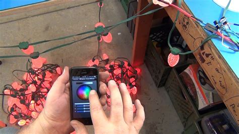control christmas lights from phone iphone christmas lights controller for ge g 35 led lights