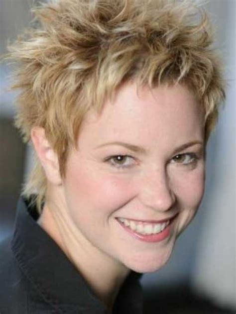 spikey hairstyles for women over 45 with fat face 15 short spiky haircuts for women short hairstyles