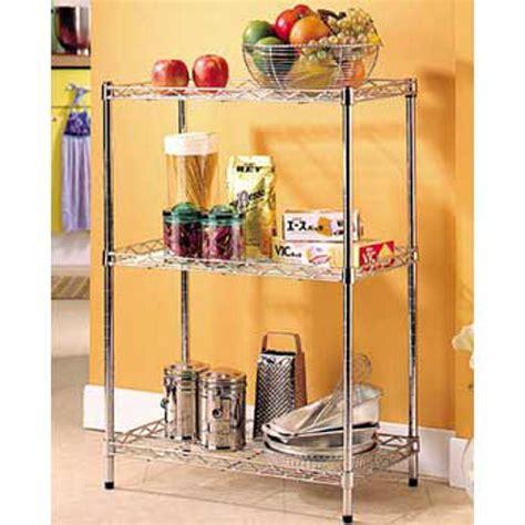 scaffali per cucina scaffale da cucina 3 ripiani 60x45xh87 cm archimede
