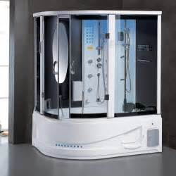 new 2015 modern steam shower bathtub jetted