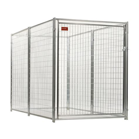 shop lucky 10 ft x 5 ft x 6 ft outdoor kennel