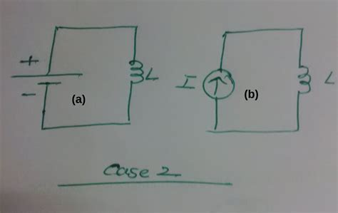 capacitor and inductor in dc voltage across capacitor and inductor with dc voltage and current source electrical