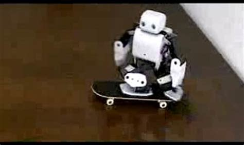 Plen The Skateboarding Robot by F F F Future Echoes Kranblog
