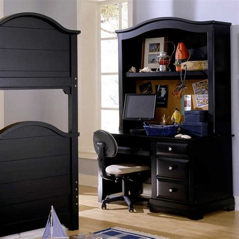 black desk with hutch black computer desk with hutch ideal computer desk with