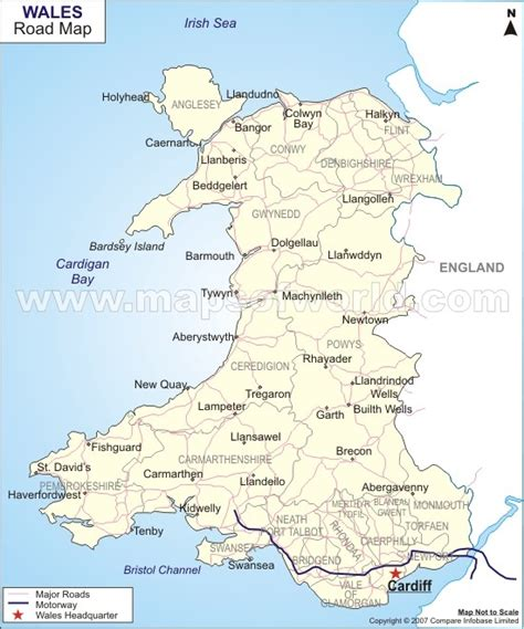 printable england road map mudiad meithrin west wales news review