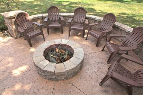 patios and firepits klein s lawn landscaping hardscapes firepits
