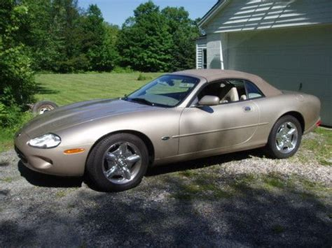 find jaguar dealer find used 1999 jaquar xk8 convertible 61 100