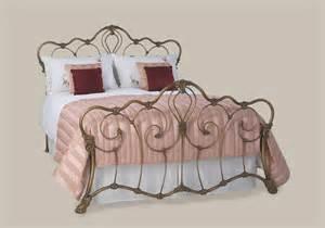 cast iron headboard on antique iron headboard king
