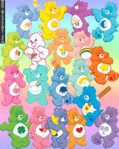 results care bears names characters calendar 2015
