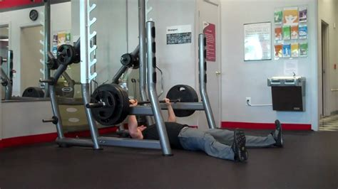snap fitness bench press big triceps big bench rack lockouts youtube