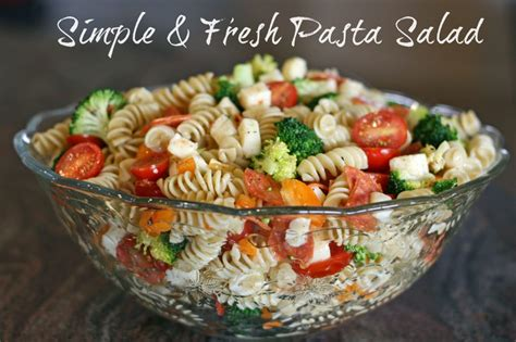 simple pasta salad simple macaroni salad recipe dishmaps