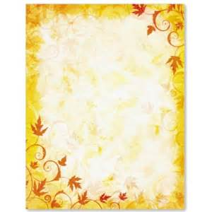 Autumn etching border papers paperdirect