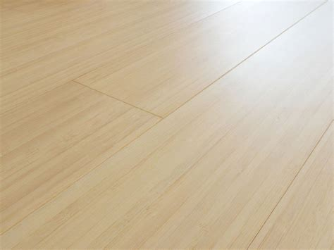 Solid Bamboo Flooring: prefinished bleached vertical plank