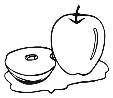 Pie Coloring Pages A Pie Apple Coloring Page Kids Pie Coloring Page