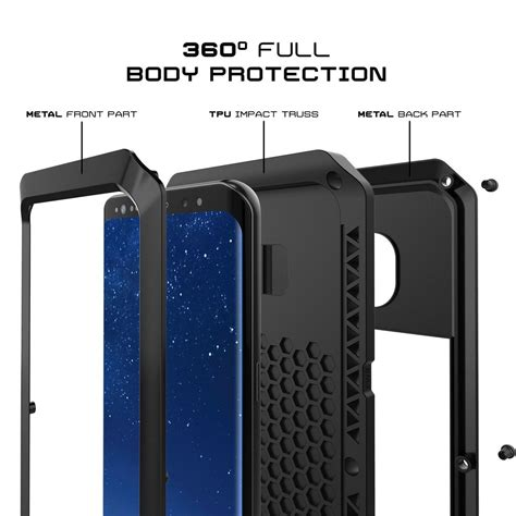 galaxy  metal case heavy duty military grade rugged