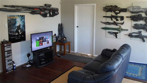 cool gaming rooms no shame in being afraid of a gaming room of space guns and swords kotaku australia