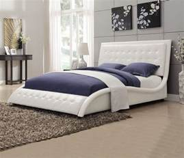 Upholstered Bed Frame Designs Bed Frame With Headboard