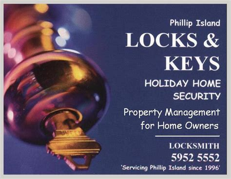 phillip island locksmith home security