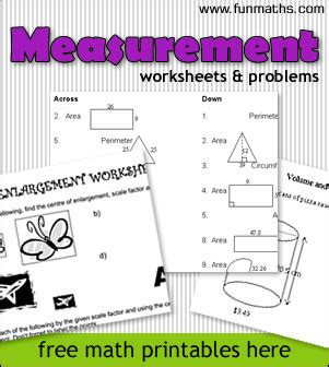 Rectangular Home Plans by Measurement Worksheets Amp Problems Free Fun High