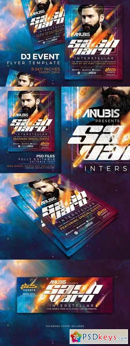 dj event poster templates free dj event flyer template vol 1 730655 187 free