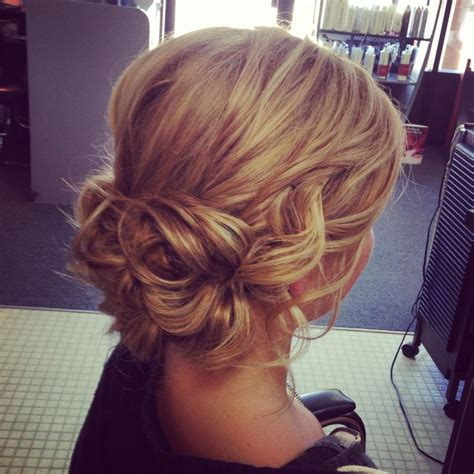 Soft Updo Hairstyles | soft wavy updo bottom is pretty wedding ideas