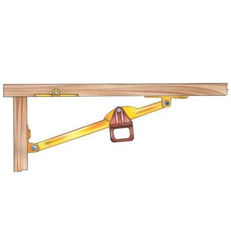 table leaf locking hardware drop leaf support select size rockler woodworking and