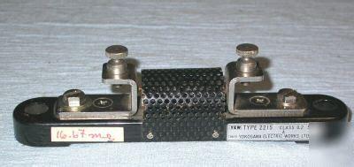 yokogawa resistors yokogawa resistors 28 images yokogawa resistors 28 images yokogawa 2792a06 standard