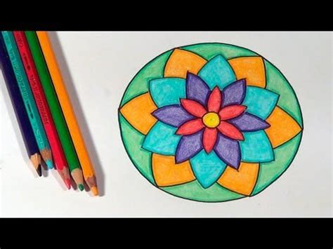 imagenes de mandalas faciles pintados como desenhar mandalas how to draw mandalas c 243 mo