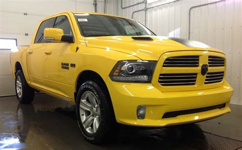 dodge stinger ram offers limited edition 1500 stinger yellow sport