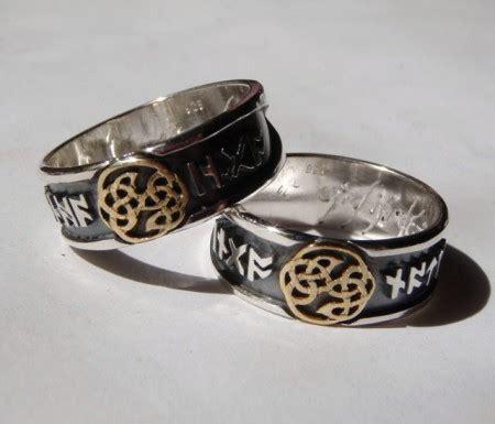 Eheringe Keltischer Knoten by Ring Aus Silber Mit Keltischem Knoten Und Ihren Namen In