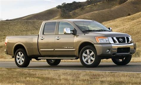 nissan truck titan car and driver