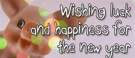 new year luck happy new year messages