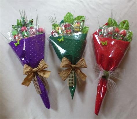 como hacer denarios con dulces c 243 mo hacer bouquets con dulces dale detalles