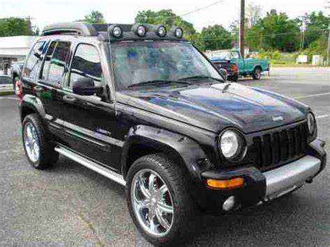 jeep renegade lights purchase used 2004 jeep liberty renegade sport utility 4