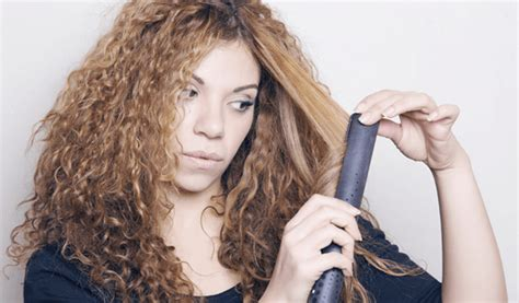 curly hairstyles with straightener the best straightener for curly hair 2018