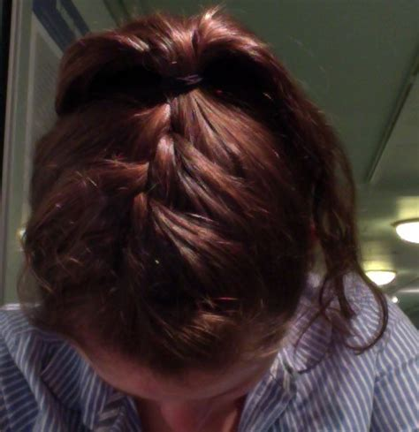 25 best ideas about inside out french braid on pinterest top of the head braid french braid with sock bun obsessed