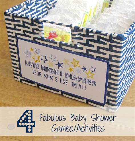 Baby Shower Activity Ideas Not by Four Fabulous Baby Shower Activities Driven By Decor