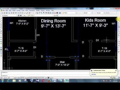 layout autocad 2007 foundation layout auto cad 2007 youtube