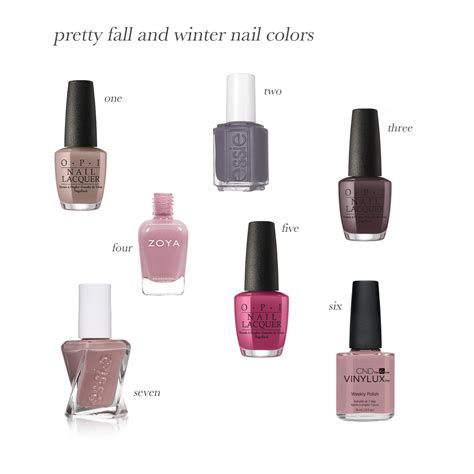 winter nail colors fall and winter nail colors the small things