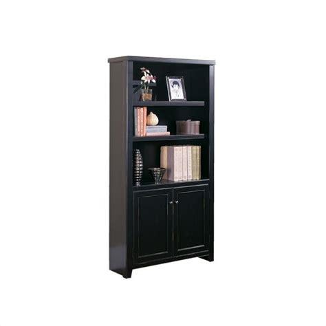 3 Shelf Black Bookcase by Kathy Ireland Home By Martin Tribeca Loft 3 Shelf Lower