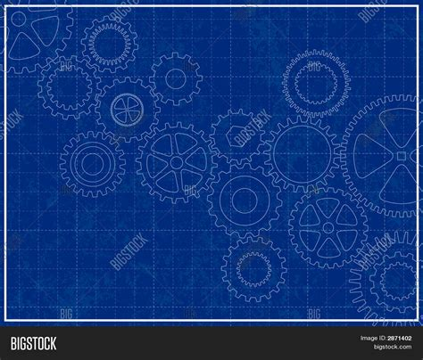 blueprint vector stock photo image 9031930 blueprint background with cogs stock vector stock photos