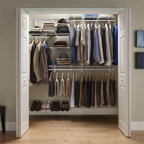 Closet Organizing Services by 100 Closet Organizing Services Closetmaid Shelftrack 5 8 Ft Closet Organizer Kit