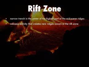 Rift Zone Floor by Landforms And Oceans 5th Grade By O Dell