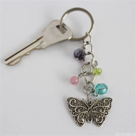 bead keychain butterfly beaded keychain and 16 more easter projects