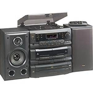 Cd Bookshelf System Amazon Com Teac Dc D6300 3 Cd Shelf System With Turntable
