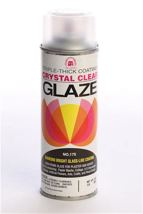 6oz Crystal Clear Glaze Triple Thick Coating Mediums And