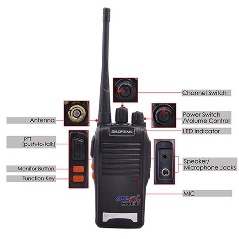 Ht Baofeng Bf 888s Uhf By Sp Shop baofeng bf777s uhf 400 470mhz radio earpiece 409shop